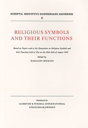 Vol 10 1979 Religious Symbols And Their Functions Scripta