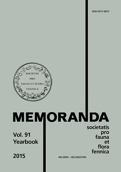 Memoranda Vol 91. Yearbook 2015