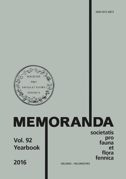 Näytä Vol 92 (2016): Yearbook 2016