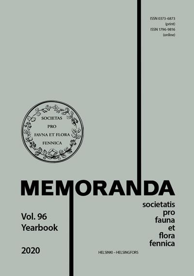 Näytä Vol 96 (2020): Yearbook 2020
