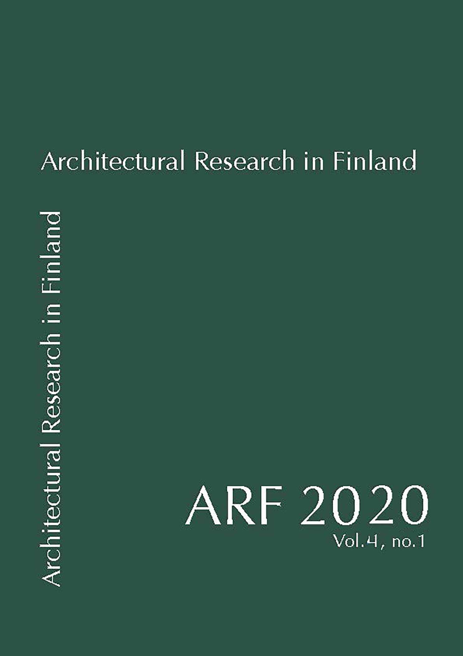 ARF 2020 vol.4 no 1