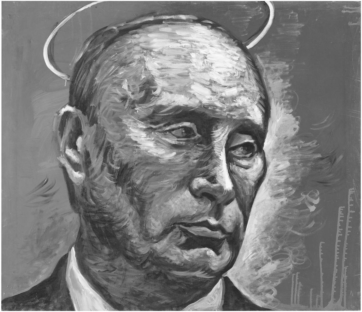 Kuva: Konstantin Altunin: Vladimir Putinin kansan ilmiö (2010).