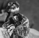 Kuva:Marushka Katariina Lillqvistin animaatioelokuvasta Romanien peili (2003).