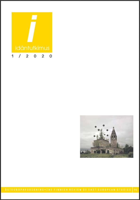 Idäntutkimus-lehden numeron 1/2020 kansi