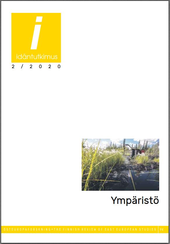Idäntutkimus-lehden numeron 2/2020 kansi