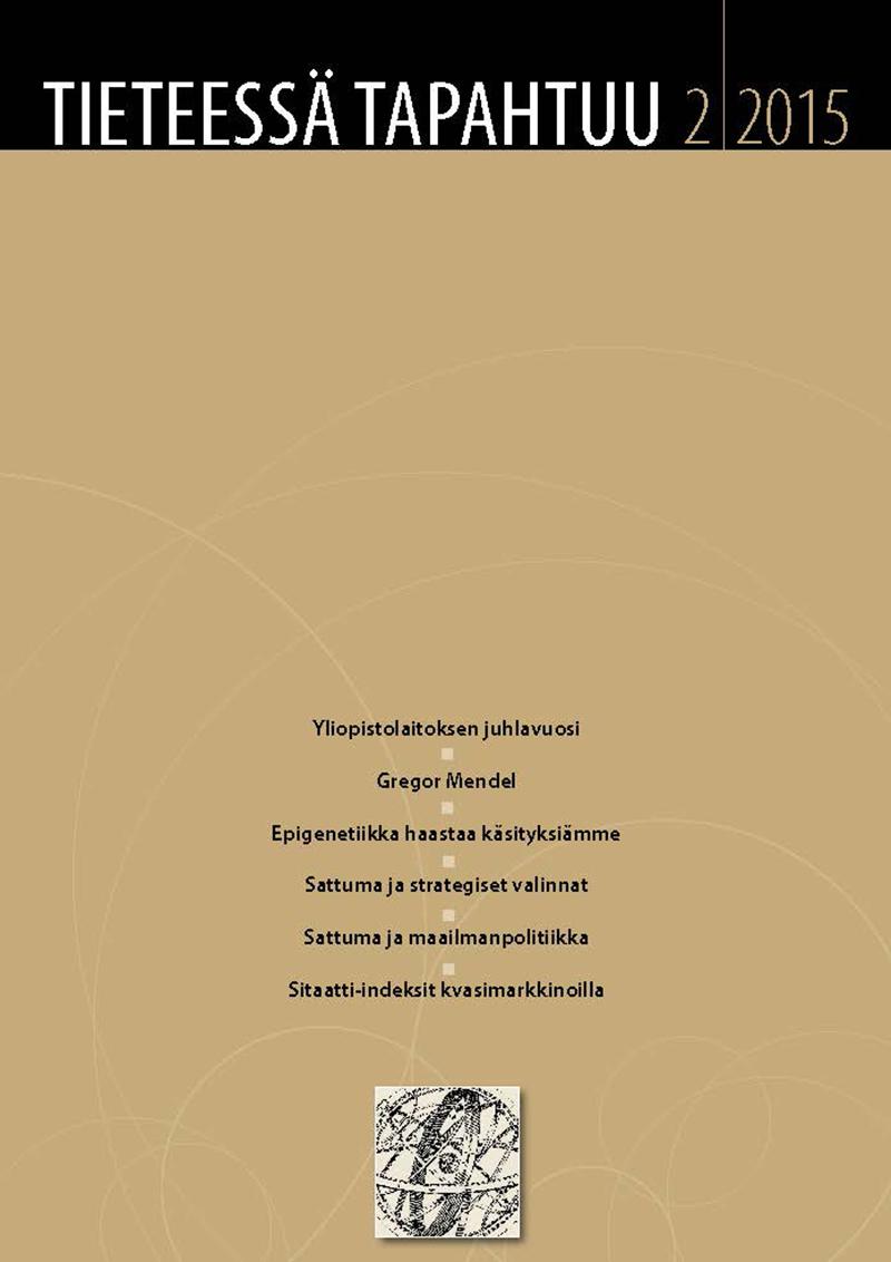 Näytä Vol 33 Nro 2 (2015)