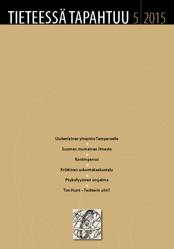 Näytä Vol 33 Nro 5 (2015)
