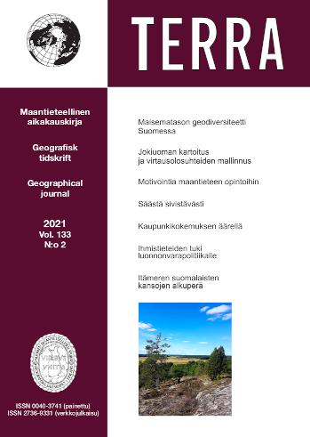 Näytä Vol 133 Nro 2 (2021)