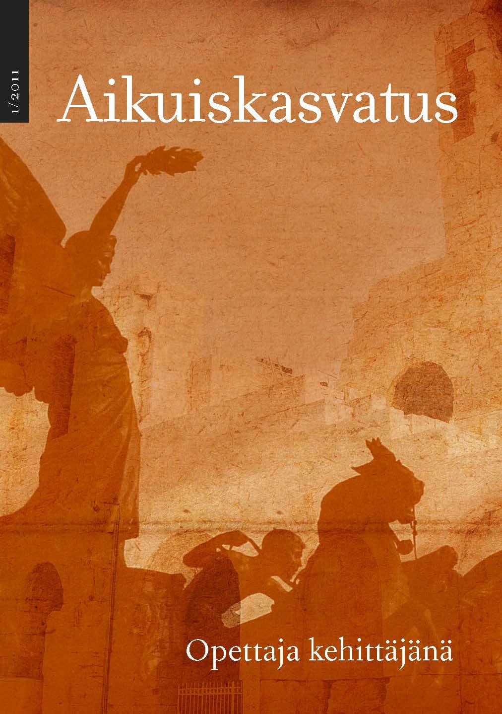 Näytä Vol 31 Nro 1 (2011): Aikuiskasvatus 1/2011: Opettaja kehittäjänä