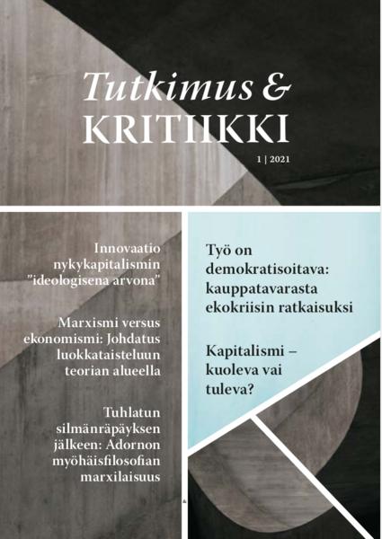 Näytä Tutkimus ja kritiikki, 1/2021