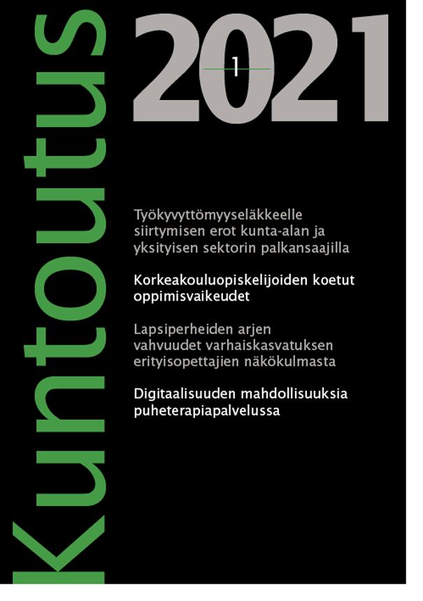 Näytä Vol 44 Nro 1 (2021)