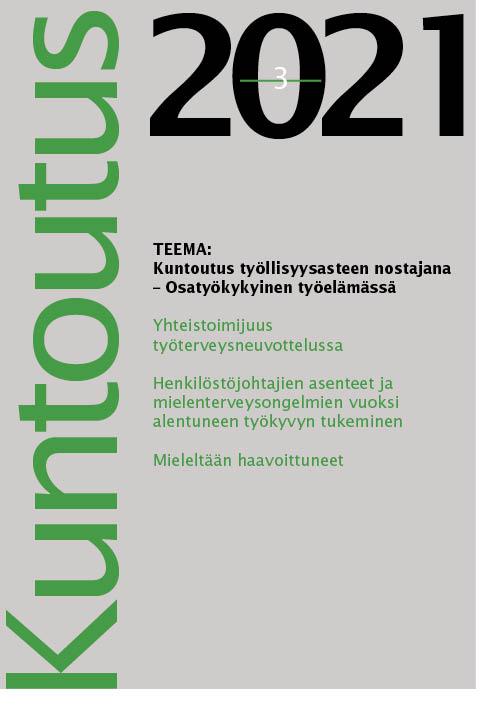 Näytä Vol 44 Nro 3 (2021)