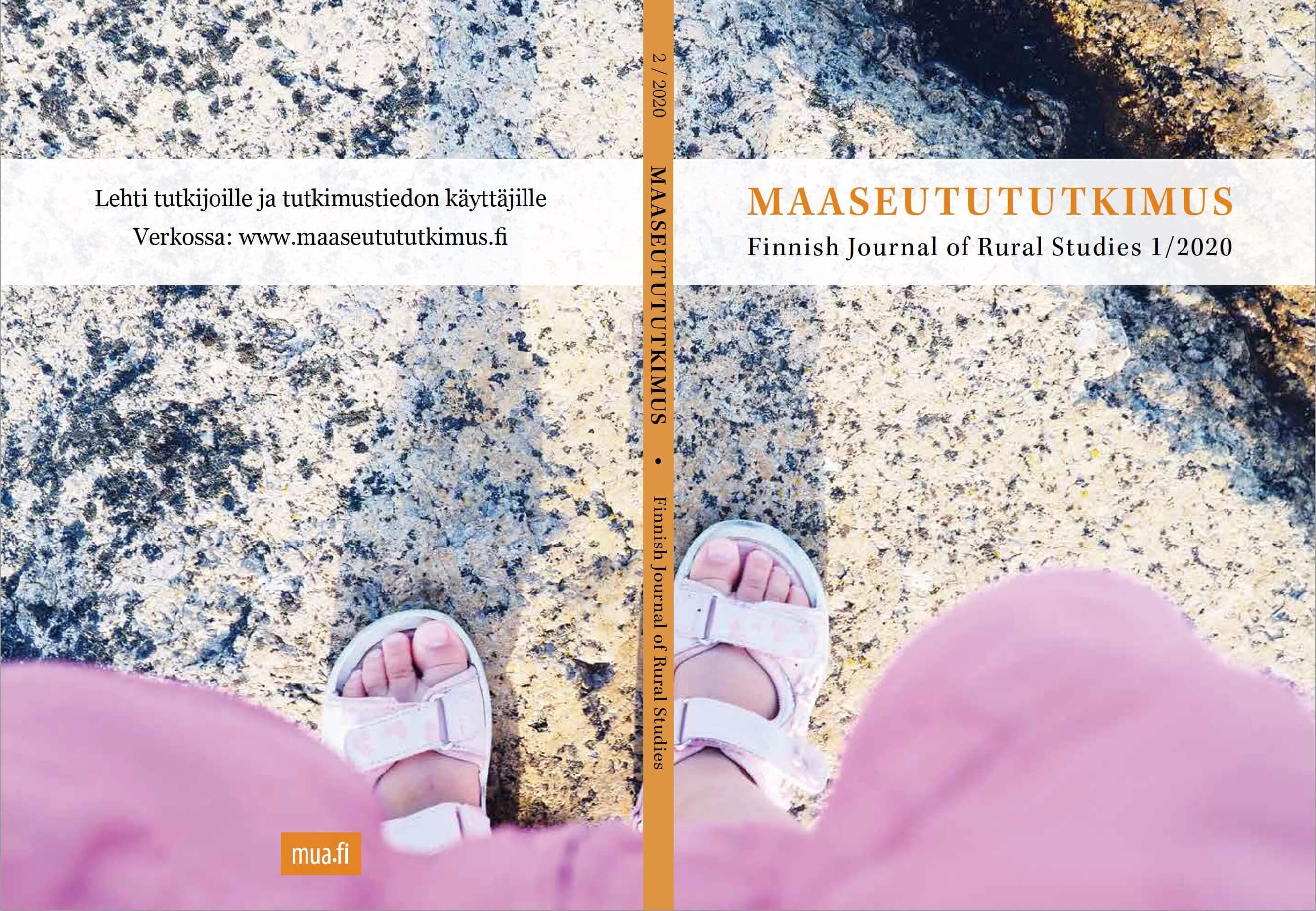 Vol 28 Nro 2 (2020): Maaseudut yhteiskuntien kestävyysmuutoksissa