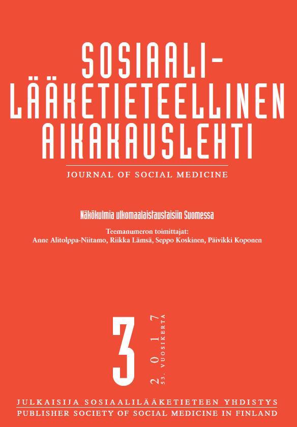 Vol 54 Nro 3 (2017): Teemanumero: Näkökulmia ulkomaalaistaustaisiin Suomessa