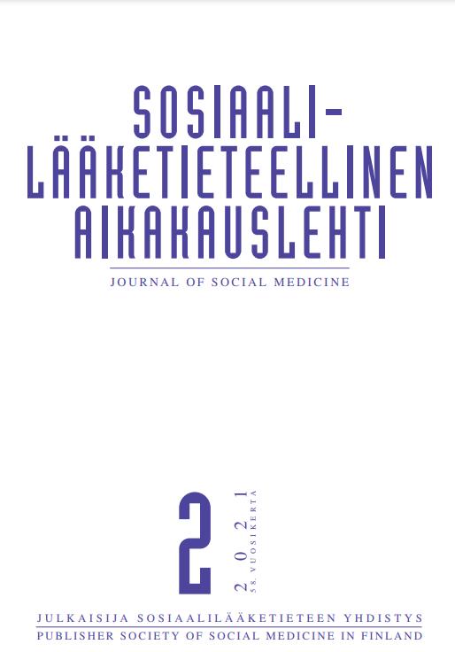Näytä Vol 58 Nro 2 (2021)