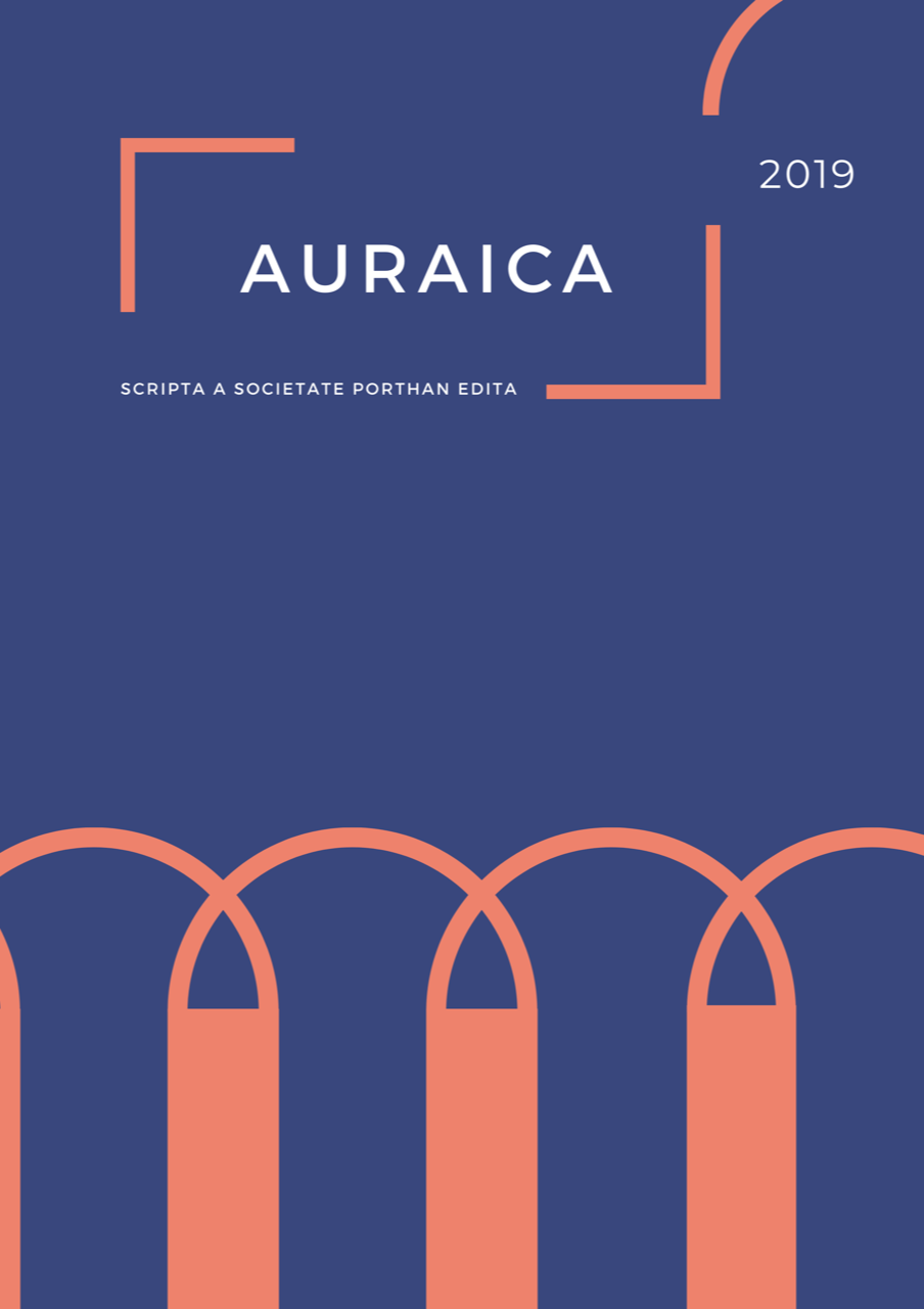 Porthan-Seuran julkaisu Auraican kansi 2019