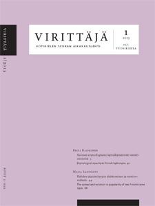 Virittäjä 1/2013