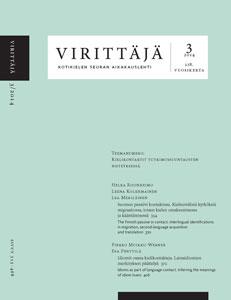 Virittäjä 3/2014