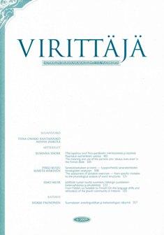 Virittäjä 4/2009