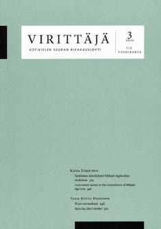 Virittäjä 4/2010