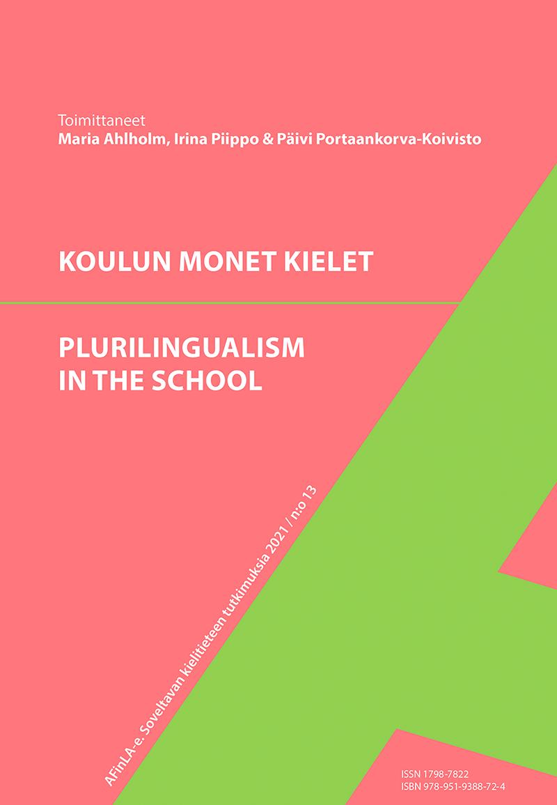 Näytä Nro 13 (2021): Koulun monet kielet. Plurilingualism in the school