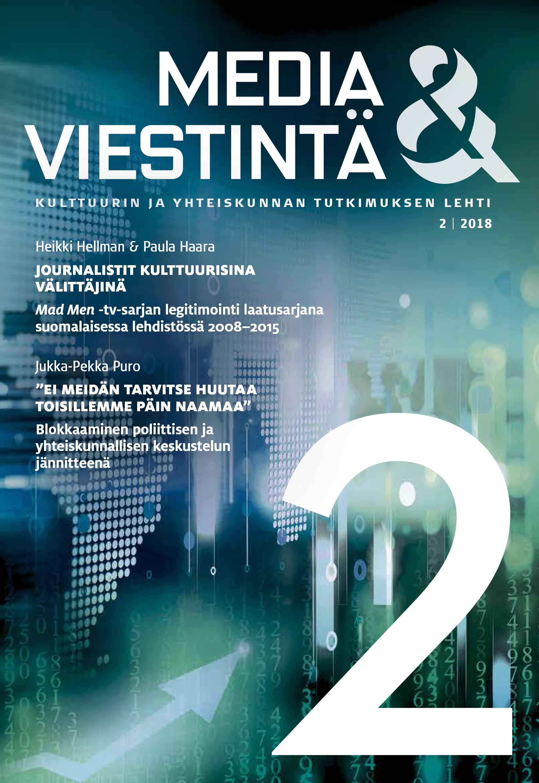 Näytä Vol 41 Nro 2 (2018)