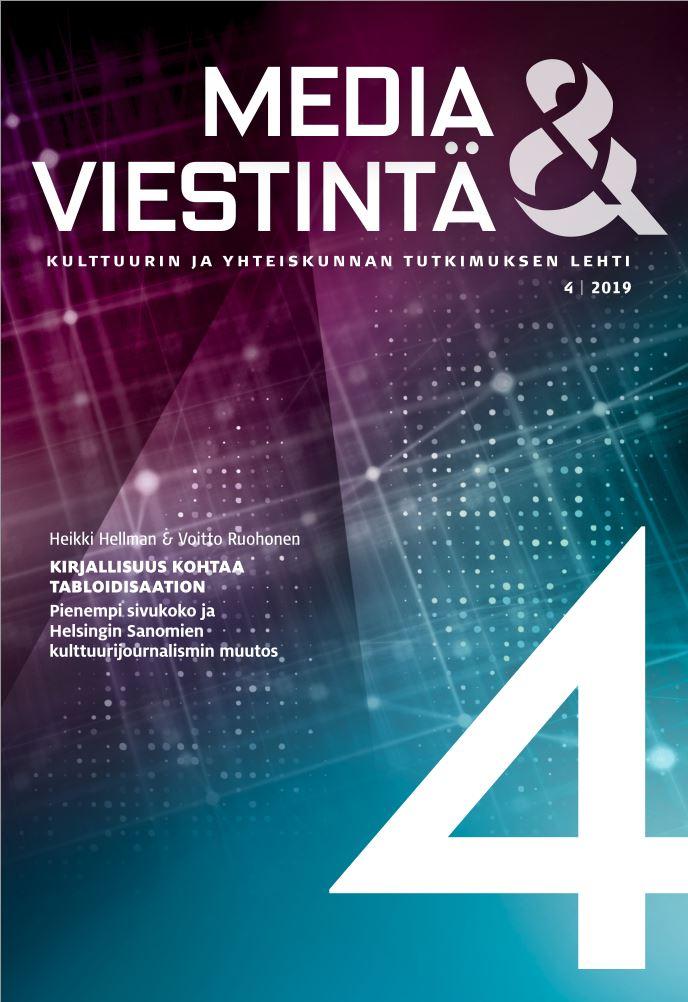 Näytä Vol 42 Nro 4 (2019)