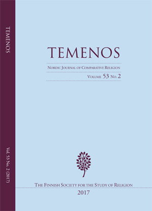 View Vol. 53 No. 2 (2017): Temenos - Nordic Journal of Comparative Religion