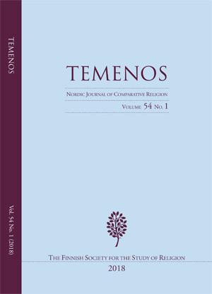 View Vol. 54 No. 1 (2018): Temenos - Nordic Journal of Comparative Religion