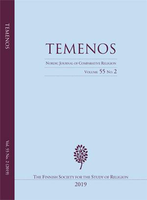 View Vol. 55 No. 2 (2019): Temenos - Nordic Journal of Comparative Religion
