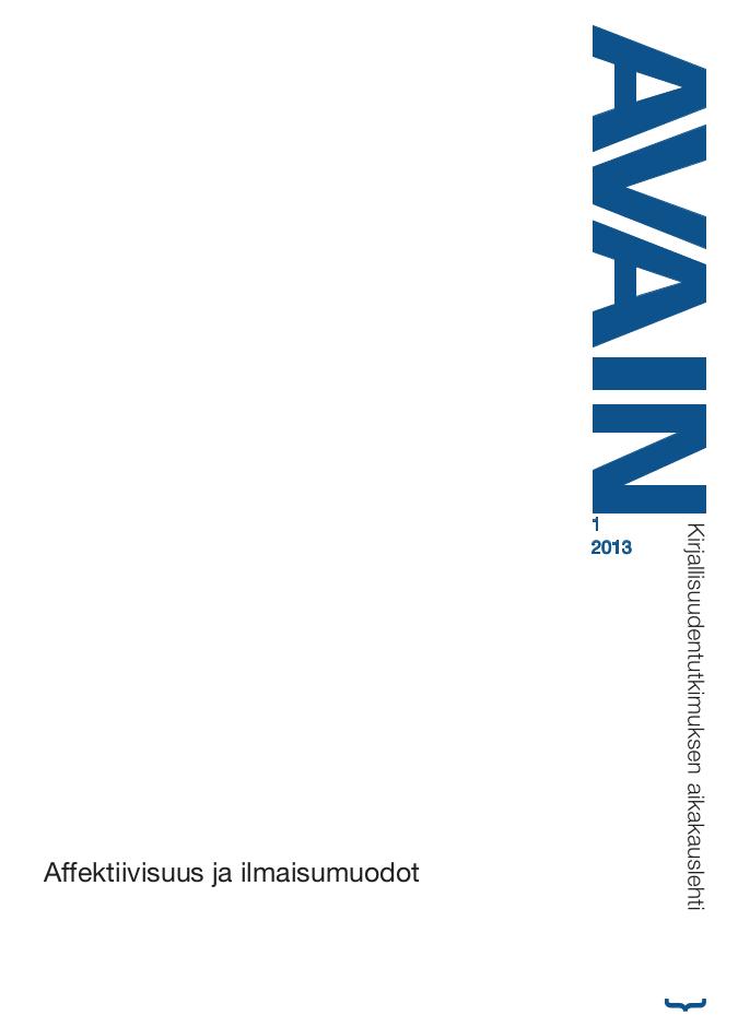 Avain 1/2013