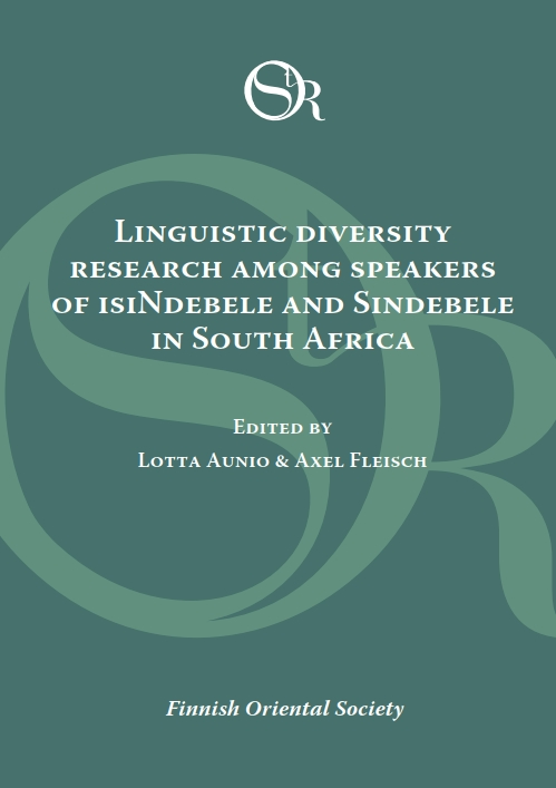 View Vol. 120 (2019): Linguistic Diversity Research among Speakers of isiNdebele and Sindebele in South Africa