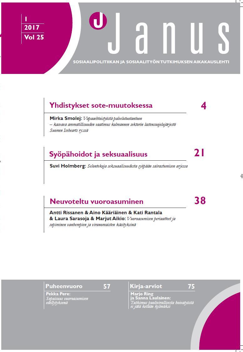 Januksen 1/2017 kansilehti