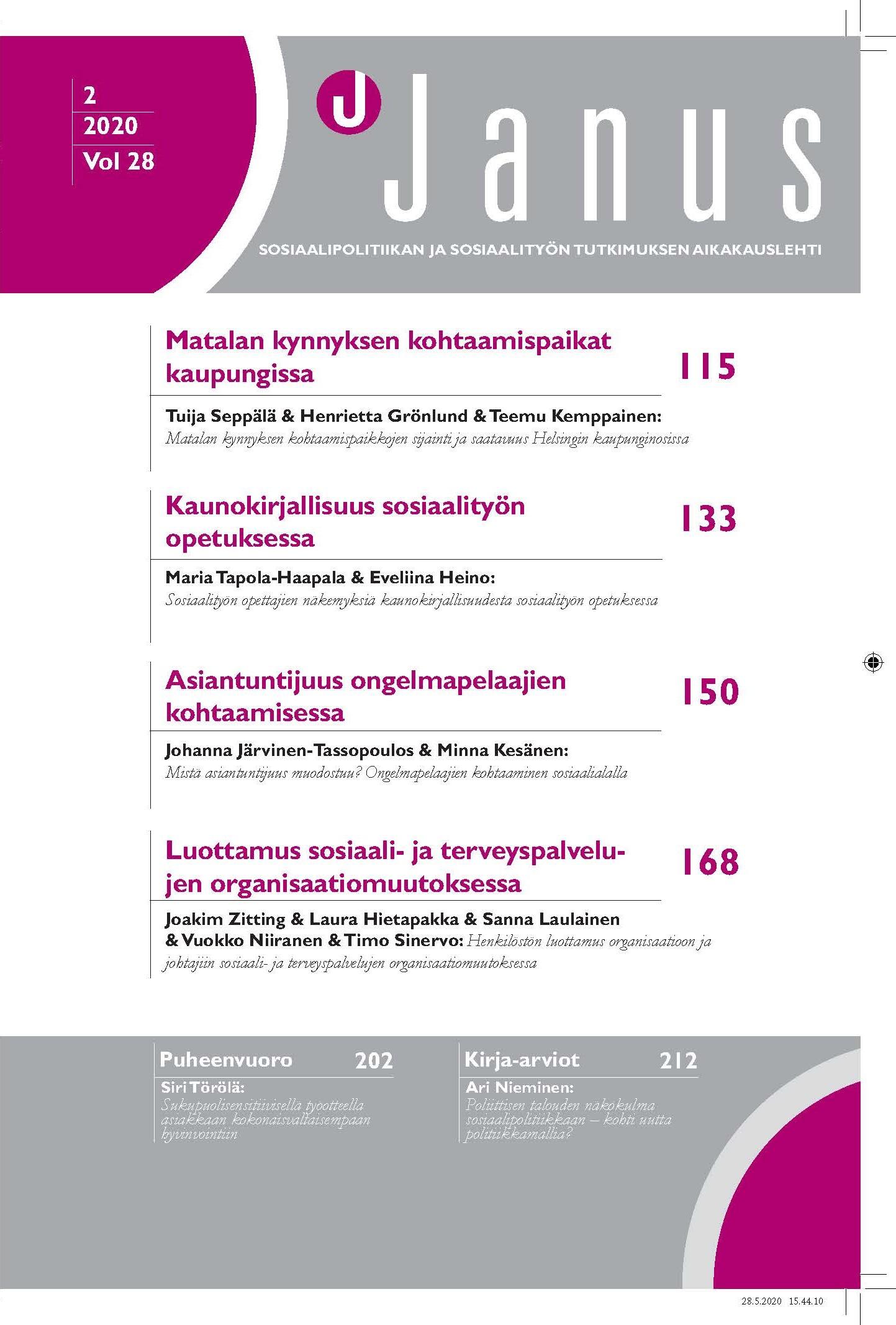 Vol 28 Nro 2 (2020): Janus 28 (2)