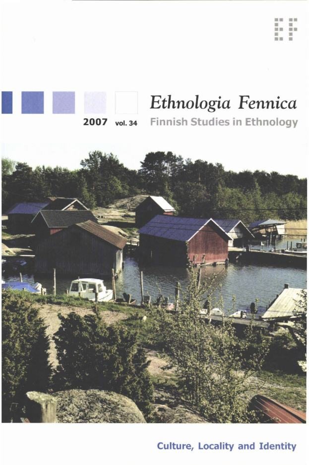 Vol 34 (2007): Culture, Locality and Identity