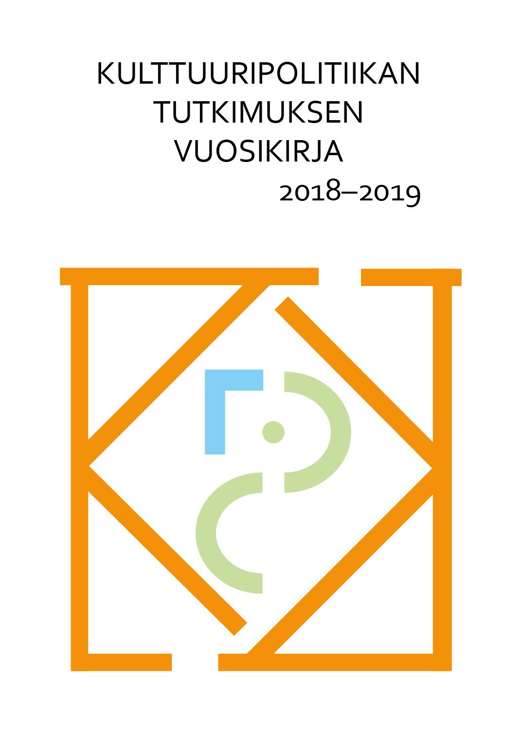 Näytä Vol 4 Nro 1 (2019): Kulttuuripolitiikan tutkimuksen vuosikirja 2018-2019