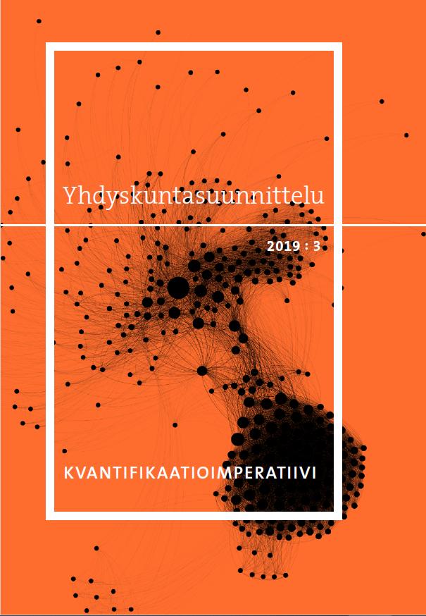 Näytä Vol 57 Nro 3 (2019): Kvantifikaatioimperatiivi