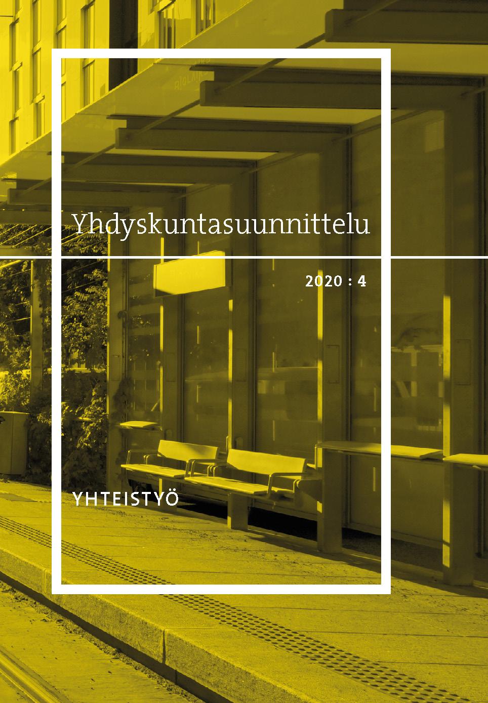 Näytä Vol 58 Nro 4 (2020): Yhteistyö