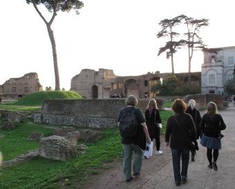 opintoretki Roomaan